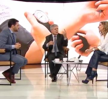 El Noticiero de la Gente, en TELEFE con Milva Castellini y Germán Paoloski- La importancia de tomarse la Presión Arterial