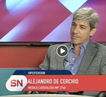 En el Dia Mundial de la Hipertensión. Entrevista al Dr. Alejandro De Cerchio en el Programa Somos Corrientes
