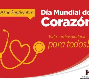 Advertencia en el marco del Día Mundial del Corazón, Septiembre 2017
